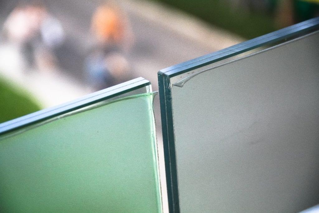 Película de vidro de segurança