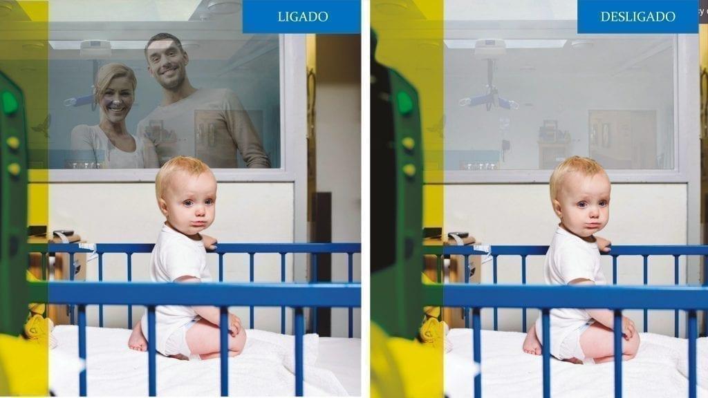 Vidro Privacy Glass em Hospitais