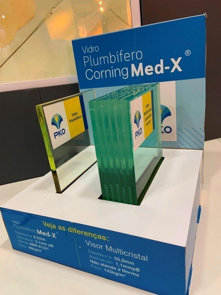 Visor plumbífero Corning® Med-X®