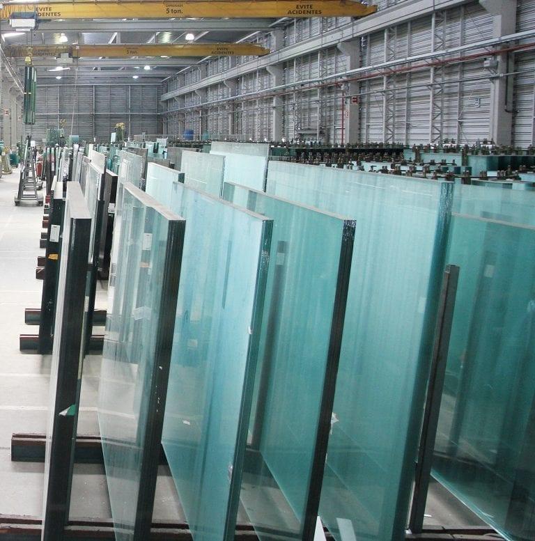 Armazenamento do vidro